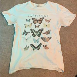 Women's urban outfitters papillon shirt